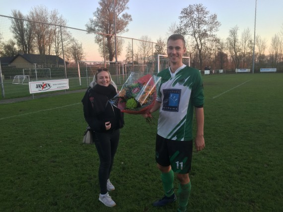 Geert Jan de Vries werd gekozen tot Man Of The Match